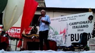 Gene Gnocchi al Campionato Italiano della bugia piastre 31-07-11