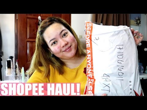 SHOPEE HAUL! + FIRST TIME PA WAX NG LEGS! | PhillineInaVlogs