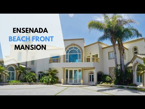 The incredible beach front mansion for sale