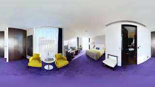 Stay at The Marker Hotel: 360° view of our Luxury Corner Suite