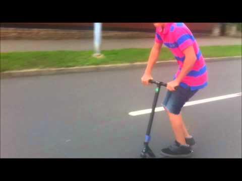 Elliott Harrison & Hadley Long | ride scooters