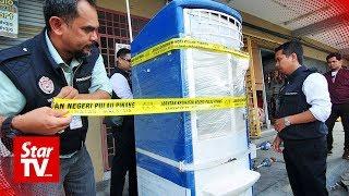 Unlicensed water vending machines in Penang shut down