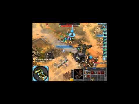 Dawn of War II Retribution Very Hard Imperial Guard Walkthrough Mission 4 Part II  