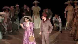 HELLO DOLLY opening scene, filmed at rehearsal 2/27/2013