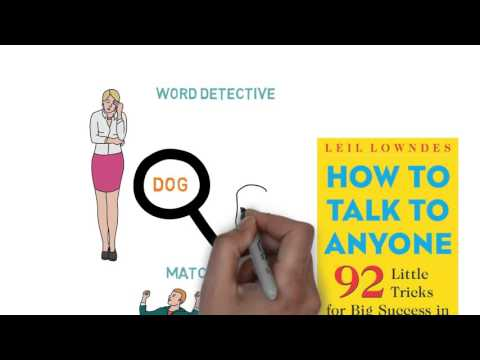 How to Talk to Anyone: 92 Little Tricks - Leil Lowndes - ANIMATED BOOK REVIEW
