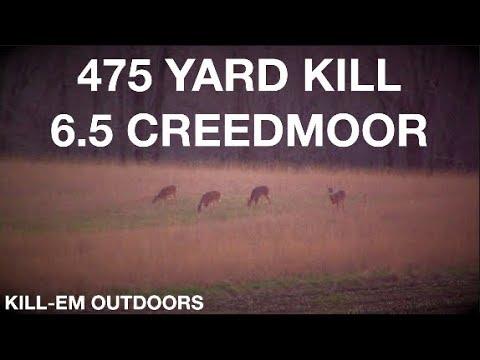 475 Yard Kill Shot (6.5 Creedmoor)