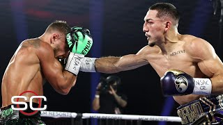 Reaction to Teofimo Lopez beating Vasiliy Lomachenko | SportsCenter
