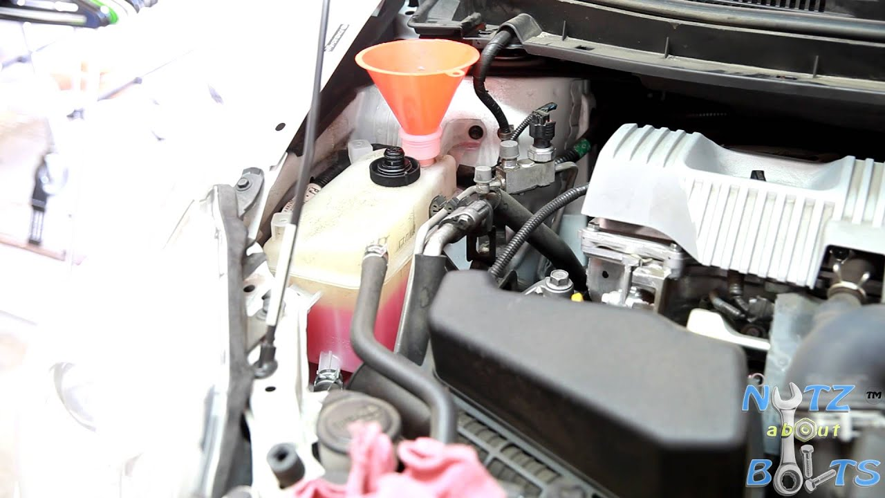 2010 2015 toyota prius engine coolant drain and refill [ 1280 x 720 Pixel ]