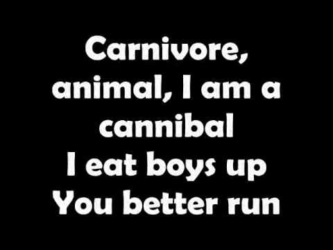 KESHA - Cannibal (Lyrics On Screen) Track 1 - New 2010 Single