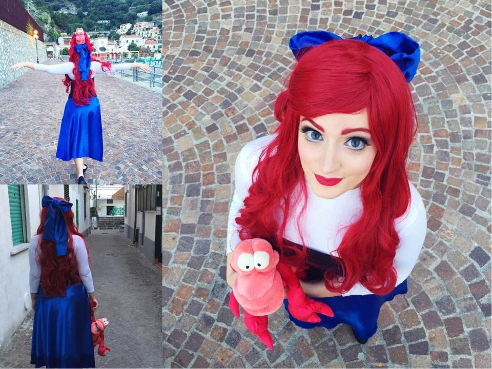 Ariel The Little Mermaid Makeuphaircostume Transformation Youtube