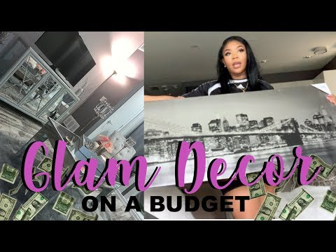 GLAM DECOR HAUL ON A BUDGET (PART 1)