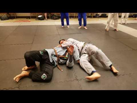 2017 Jujitsu America Grappling Clinic taught by Touyou No Chie's Derek Baure Sensei