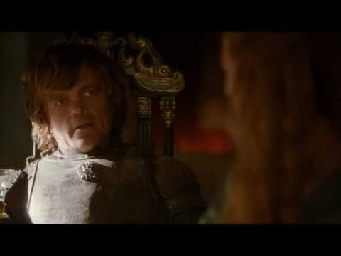 Tyrion Lannister's first appearance in King's Landing as Hand of the King