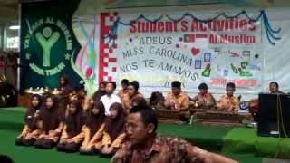 Al Muslim Junior High Performances: Karawitan