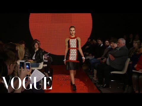 Holly Fulton Ready to Wear Fall 2013 Vogue Fashion Week Runway Show