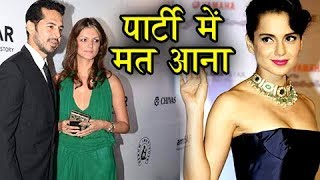 Kangana ranaut banned from attending bollywood parties | watch why