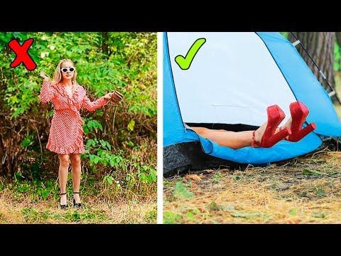 在森林里搭帐篷的时候最适合搞恶作剧了!我们给你们准备了16个恶作剧哦~