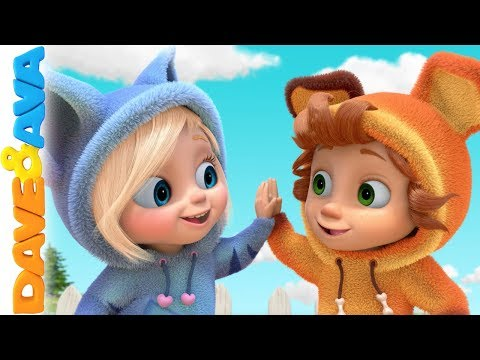 🤠 Baby Songs by Dave and Ava | Nursery Rhymes  🤠