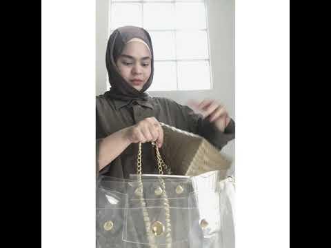 PAKU transparent Handbag Organizer