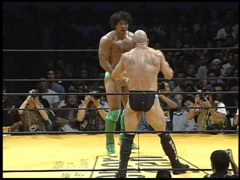 Bas Rutten vs Masakatsu Funaki 1996 9 7