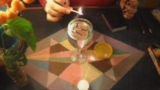 ASMR .- Prendiendo velas - Lighting wooden matches -. (Castellano)