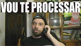 LIGANDO PARA A CASA DE QUEM ME PASSOU O TROTE DA ENTREGA