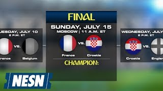 NESN Soccer Podcast predicts Croatia advancing to the World Cup Final