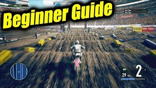 Beginner Guide - Supercross 3 The Official Videogame