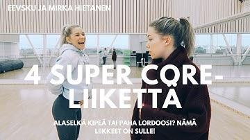 #22 - 4 SUPER CORE -LIIKETTÄ W/ MIRKA HIETANEN