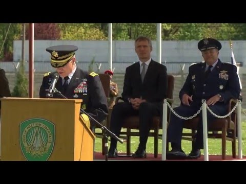 SACEUR Change of Command Ceremony - remarks by incoming SACEUR, 04 MAY 2016
