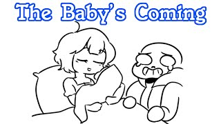 The Baby's Coming!! [Undertale Frans Comic Dub Compilation!]