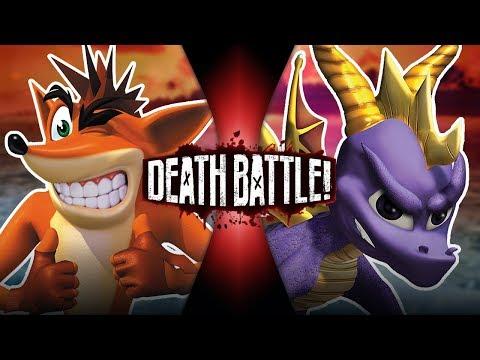 Crash VS Spyro   DEATH BATTLE!