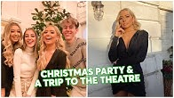 Huge Christmas party!! + They surprised us and came to wicked too!