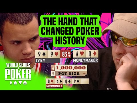 Chris Moneymaker's Historic Cooler Against Phil Ivey | 2003 WSOP Main Event
