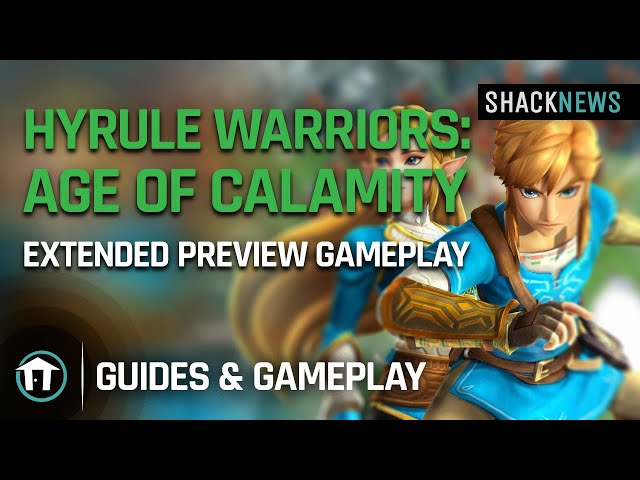 Hyrule Warriors Age Of Calamity Preview Gameplay Of Zelda Impa Link Shacknews