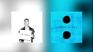 Justin Bieber/Ed Sheeran - Love Yourself - Shape Of You(MASHUP)