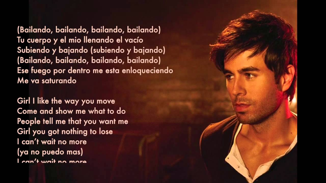 Bailando (english version) by Enrique Iglesias ft. Sean ...