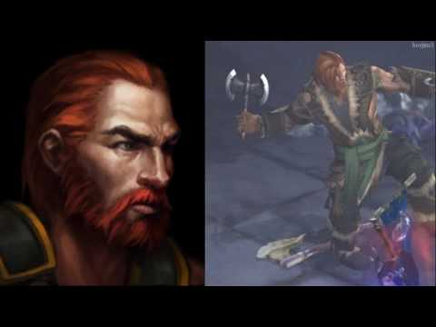 Frases de Skular, el Bárbaro en Diablo 3: RoS - Castellano