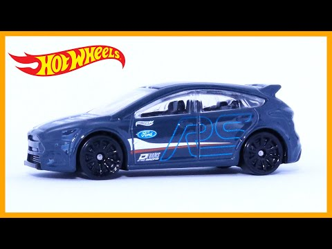 Hot Wheels Ford Focus RS (1 Minute Car Review)
