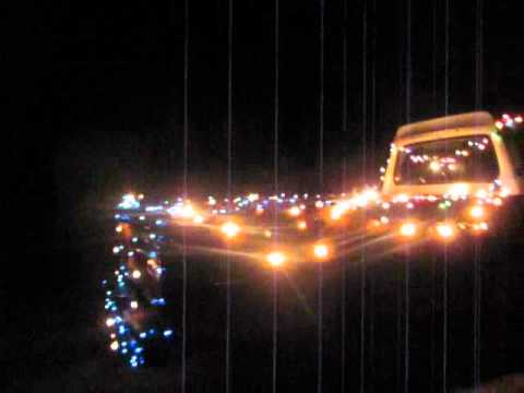 Redneck Christmas lights - YouTube