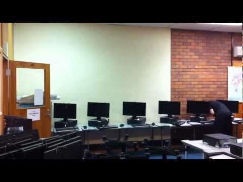 PC Computer Lab Setup From Scratch. - 1 Hour In 1 Minute.