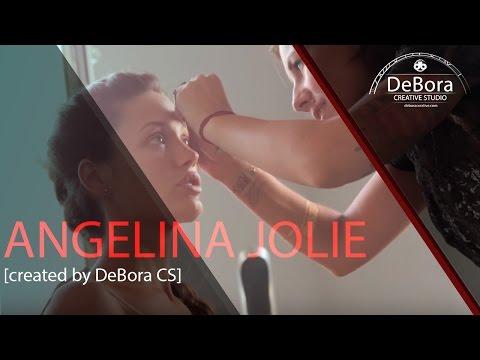 Angelina Jolie created by DeBora CS