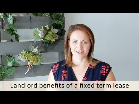 Landlord Benefits of A Fixed Term Lease - Carnelian Property Management Newcastle