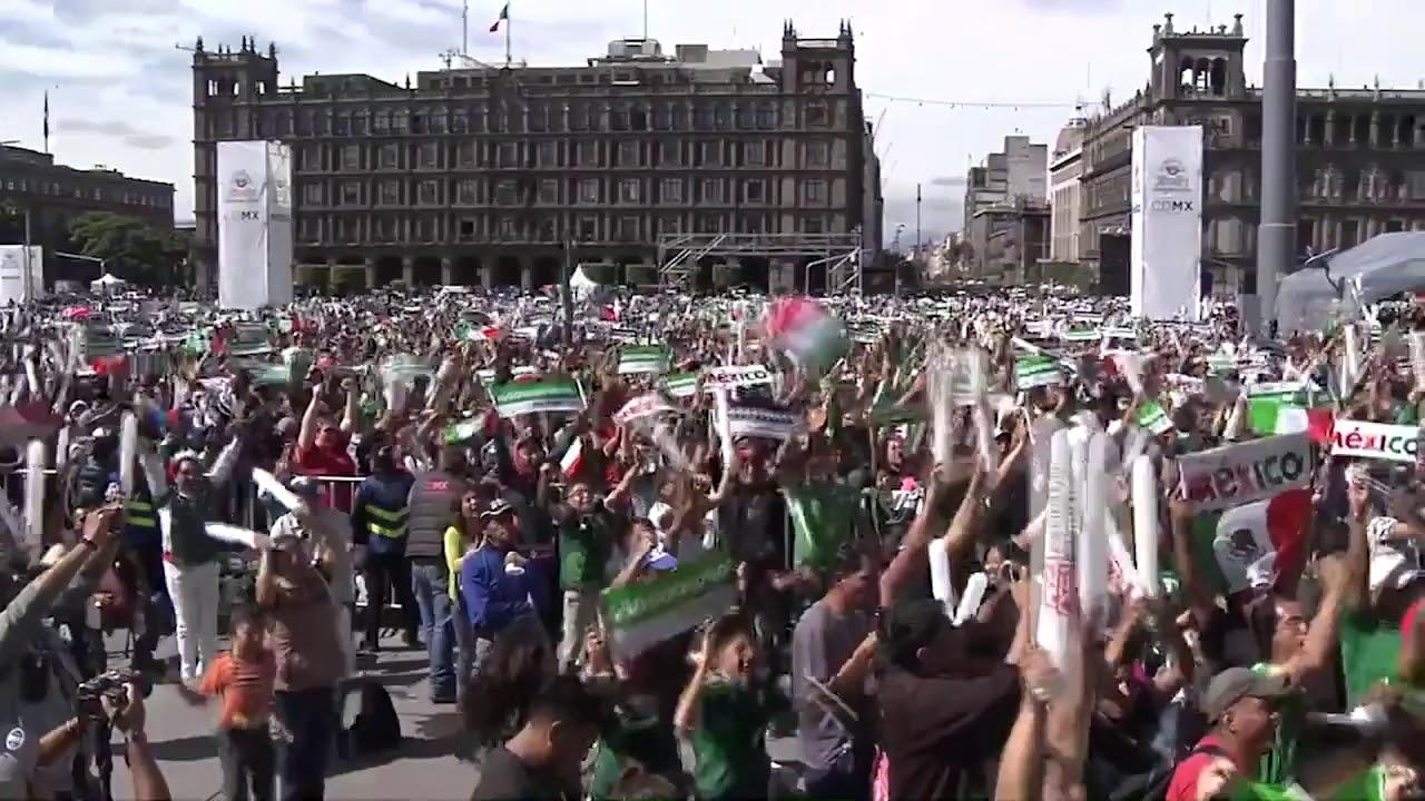 Гол в ворота Германии вызвал землетрясение в Мексике