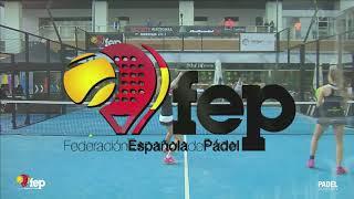 Final Junior Femenina. Campeonato España Menores Pádel 2017