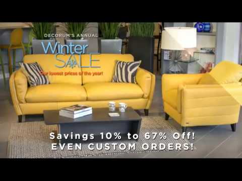 Decorum Furniture Winter Sale 2017 Youtube