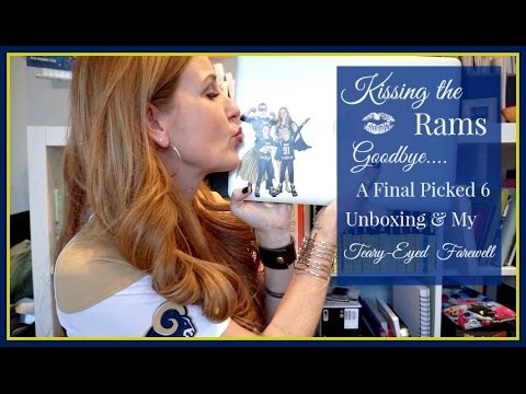 Kiss the Rams Goodbye: Final Picked 6 Unboxing