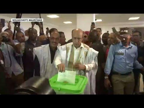 Le candidat du pouvoir, Mohamed Oud Ghazouani, proclamé vainqueur des élections en Mauritanie