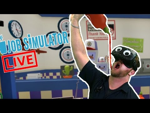 Live Mixed Reality Job Simulator!