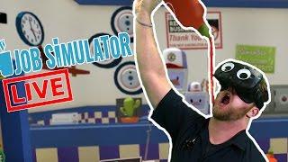 Live Mixed Reality Job Simulator!